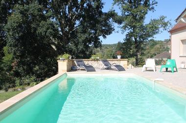 la maison ROSALIE  - sarlat - piscine chauffée. (4)