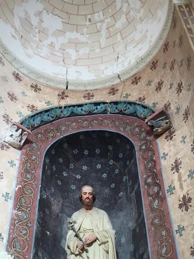 la-chapelle-largeau-chapelle-saint-joseph-fresque
