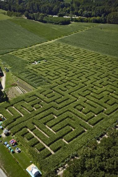 labyrinthe de l'ermite