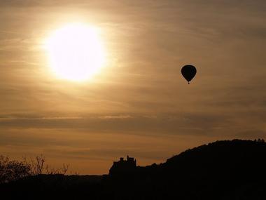 Perigord dordogne montgolfières