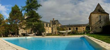 piscine Château de Sauveboeuf