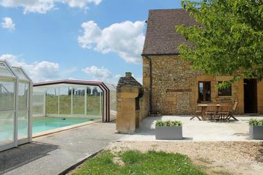 080006-LE DOUBLE - maison de vacances avec piscine privée et couverte - Beynac 15)