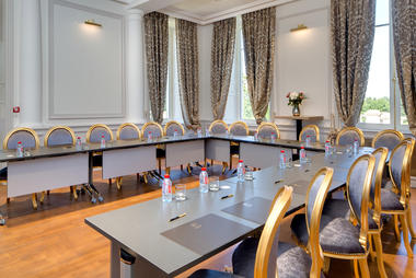 Une des deux salles de réunion