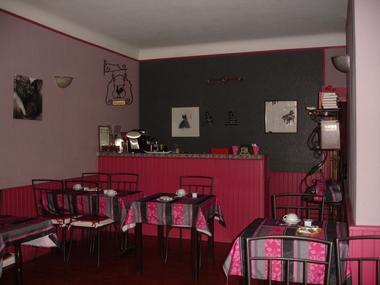 La salle des petits-déjeuners