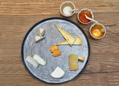 Un assortiment de formages