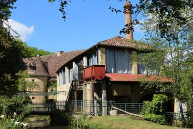 Moulin à papier de la Rouzique - Couze et Saint Front