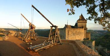 Chateau de Castelnaud- vue Nord
