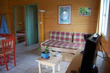 Natura-resort-chalet-une pièce à vivre