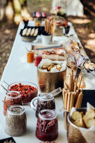 Un buffet champêtre