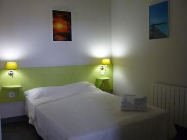La chambre d'un appartement