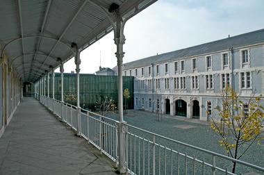 La cour intérieure du musée