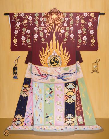 Costume de Cérémonie pour le Kabuki