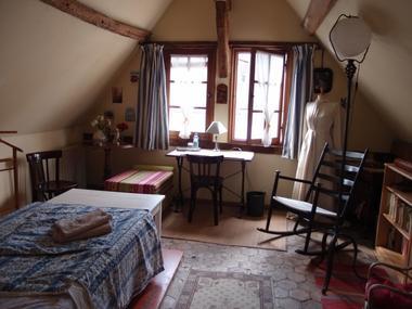 Maison JLN - la chambre de l'atelier