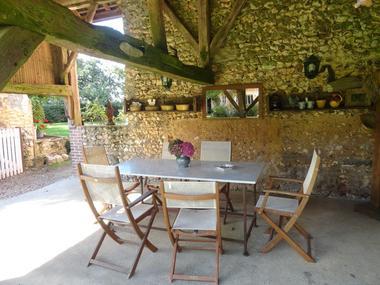 La salle à manger d'été