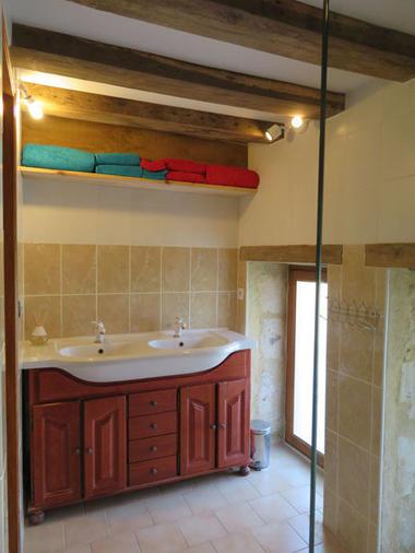 La première salle de bain