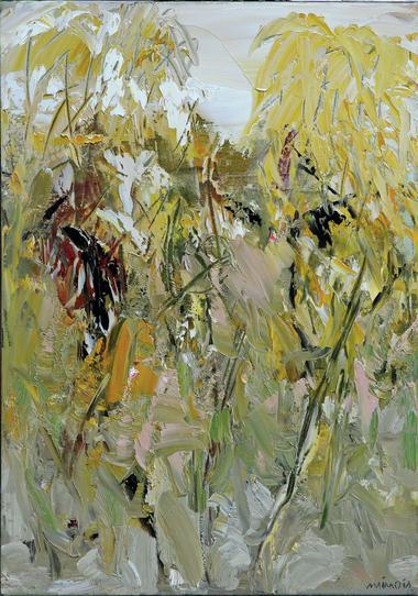 Les petits arbres jaunes