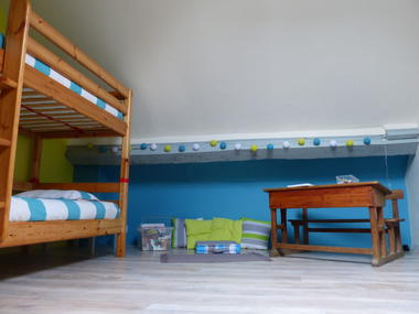 Chambre enfants gîte de la Berthe