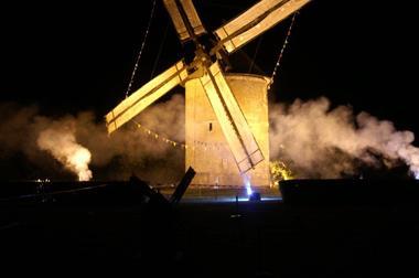 Moulin à vent de Frouville Pensier