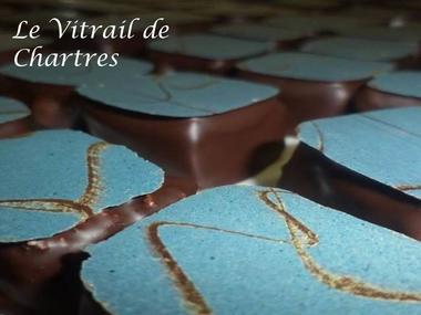 Photo vitrail chartrees