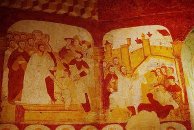 Peinture murale de la chapelle