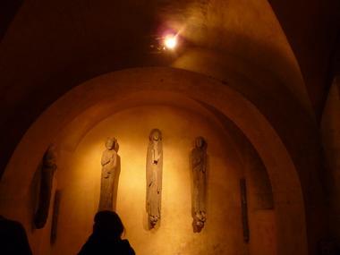Visites guidée Chartres en Lumières Privilège : visite de la crypte aux chandelles