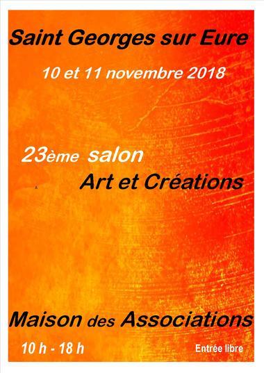 affiche-orange2-Salon-art-et-creations