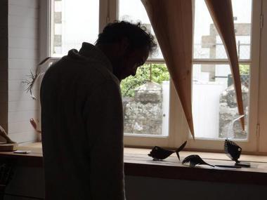 Arnaud Géguen sculpteur Ile Tudy pays bigouden finistere bretagne bigoudène métal