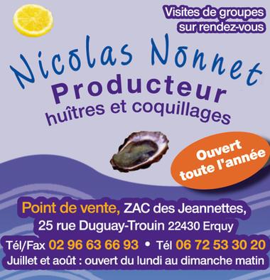 Huîtres Nonnet