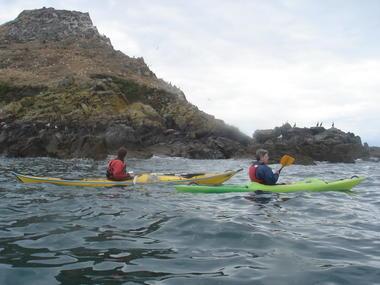 Navigation autour de l'îlot du Verdelet