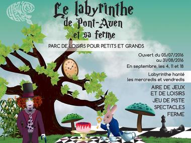 Le labyrinthe de Pont-Aven