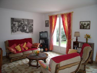 Location - LE CRAS - Lesconil - Pays Bigouden - salon
