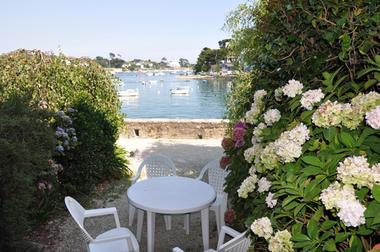 Location JEGO - Sainte-Marine - Pays Bigouden - terrasse