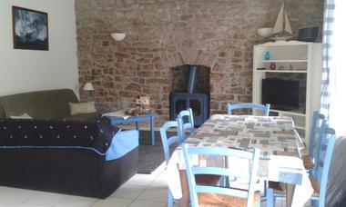 Location POULIQUEN - Sainte-Marine - Pays Bigouden - salon