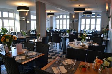 Restaurant Le Malamock II salle  Ile-Tudy pays bigouden finistère bretagne