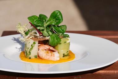 restaurant-manoir de kerhuel-ploneour lanvern-entrée 2