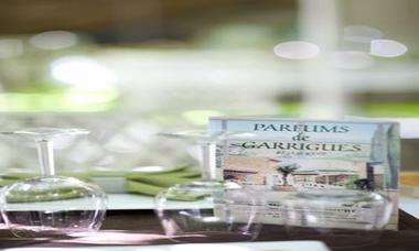 Accueil à Parfums de Garrigues