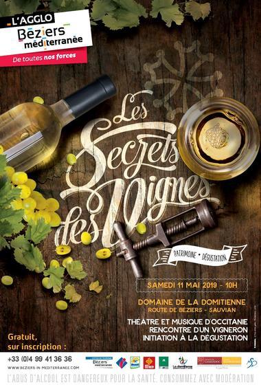Secrets des vignes à Sauvian