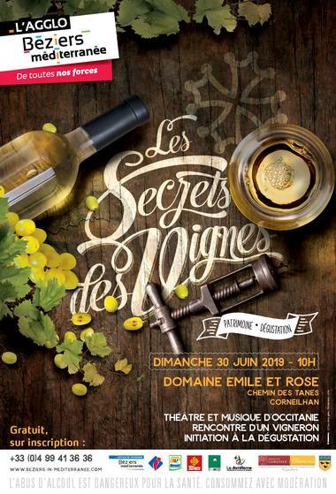 Secrets des vignes Corneilhan