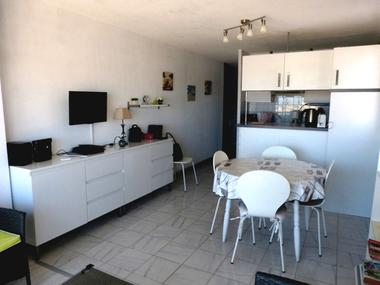 Appartement Barrial Valras Séjour cuisine 2