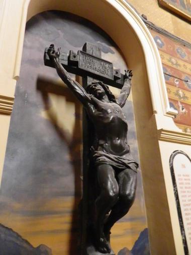 Basilique St Aphrodise-Le Christ en croix d'Injalbert-1877-MBP