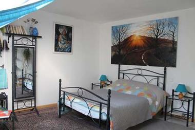 Chambre bleue Villa Issiate