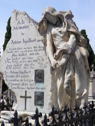 Cimetiere vieux-tombeau du sculpteur Injalbert-MBP