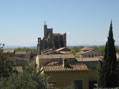 COLLEGIALE ST ETIENNE A CAPESTANG