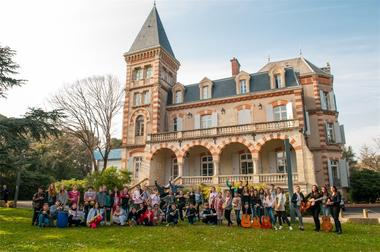 Conservatoire photo de groupe
