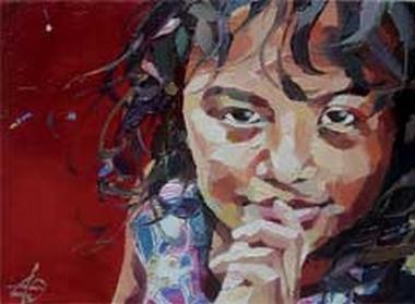 COM -Olargues -Artiste Peintre - Els - Portrait