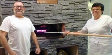Fifi et Jacques au four à bois
