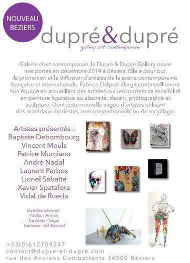 """Galerie d'Art Contemporain """"Dupré & Dupré"""""""