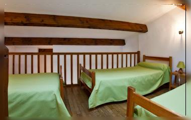HOtel Bourrel Chambre familiale mezzanine