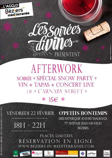 "Afterwork ""Snow Party """