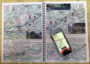 Carte Canal Du Midi et App pour notre tours à vélo